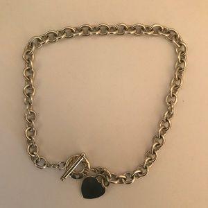 Silver Necklace and Bracelet Set 0.925